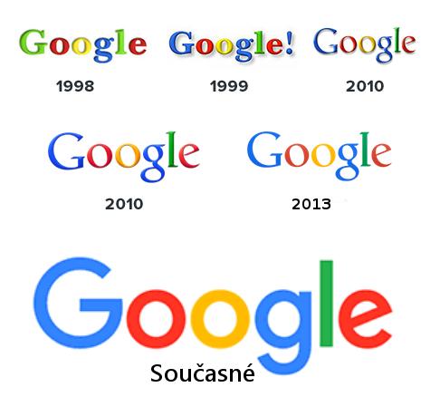 Google nové logo